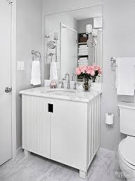 bathroom white tiles: