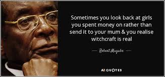 TOP 25 QUOTES BY ROBERT MUGABE | A-Z Quotes via Relatably.com