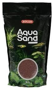 Купить песок <b>Zolux Aquasand Trend</b> Cocoa Brown для аквариума ...