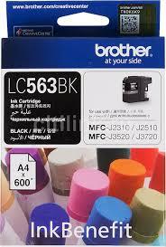 Купить <b>Картридж BROTHER</b> LC563BK, черный в интернет ...