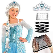 Tacobear Elsa Wig Frozen Elsa Braid with Princess ... - Amazon.com