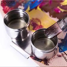 Высокое качество краски палитра масло <b>горшок</b> одно двойное ...
