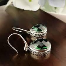 <b>JIASHUNTAI Retro 100</b>% <b>925</b> Sterling Silver Earrings For Women ...
