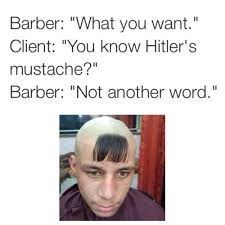 The barber meme - NeoGAF via Relatably.com