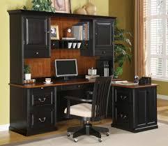 black corner computer desk with hutch black computer desks