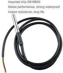 Geekstory 5PCS <b>DS18B20 Temperature</b> Sensor, <b>Waterproof Temp</b> ...