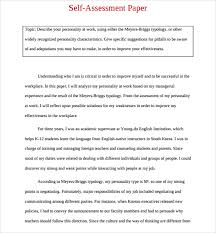 example of explanation essay analysis of survey of performance    self evaluation