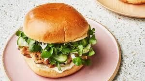 Finally, a <b>Salmon Burger</b> We Can Get Behind | Bon Appétit