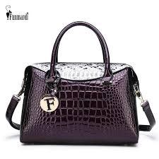 <b>FUNMARDI</b> Luxury Handbags Women's Bag Designer Crocodile ...