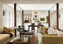 column ideas_interiors minimal painted beautiful living room pillar