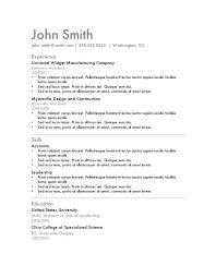 resume template 7 boc0ci46 ms word resume templates