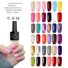 <b>72/54</b>/48W <b>UV Lamp</b> Soak Off <b>Gel</b> Nail Top Coat <b>Gel</b> Nail Polish Kit ...