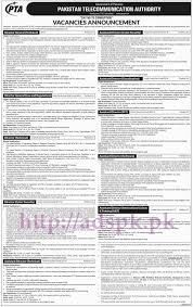new jobs telecommunication authority pta islamabad jobs new jobs telecommunication authority pta islamabad jobs for director general technical law regulation directors technical cyber security