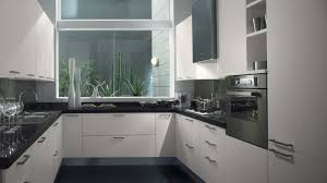 black and stainless kitchen full size of kitchen chic design ideas of white black with cabinets and granite countertops stainless
