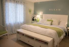pictures simple bedroom: bedroom simple bedroom decorations blue accent wall white bedroom furniture neutral colored flooring white bedding