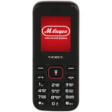 Купить <b>Мобильный телефон teXet TM-128</b> Black/Red в каталоге ...