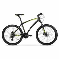 "Hyper 26"" <b>Carbon Fiber</b> Men's Mountain <b>Bike</b>, Black/Green ..."