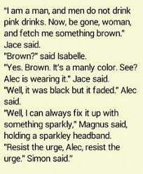 Image result for the mortal instruments malec quotes
