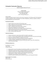 resume computer skills proficiency of skills on resume good list 12 resume basic computer skills sample easy resume samples basic computer skills section on resume example
