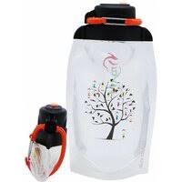 «<b>Бутылки для воды VITDAM</b> Складная эко бутылка с карабином ...