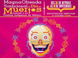 Resultado de imagen para delegacion xochimilco  eventos dia de muertos 2015