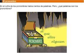 Resultado de imagen de PRONOMBRES LUISA MARIA ARIAS
