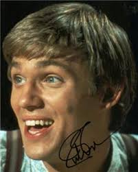 Richard Thomas 'John Boy Walton' 10x8 Signed Photo AFTAL / UACC - 429965512_tp