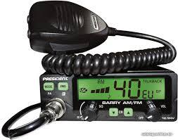 Автомобильная <b>радиостанция</b> CB <b>President Barry ASC</b> 12/24