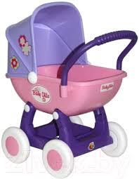 <b>Полесье Arina</b> 4 колеса / 48202 (сиреневый/розовый) <b>Коляска</b> ...