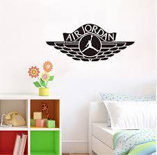 <b>YOYOYU</b> Wall Sticker <b>Nursery</b> Home Decoration Basketball Player ...