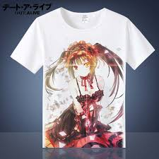 Best Price High quality <b>anime t shirt</b> date a live list and get free ...