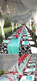 aqua black white and touches of redlose the red be more awesome black white tiffany blue i love the contrast these have been my ideal wedding awesome black white