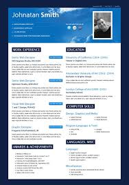 Modern Resume Templates   build a resume online happytom co