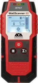 <b>Детектор проводки ADA Wall</b> Scanner 80 | купить в розницу и оптом