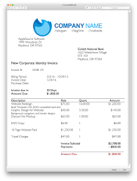 applesource software > timenet invoice templates time tracking professional invoice template