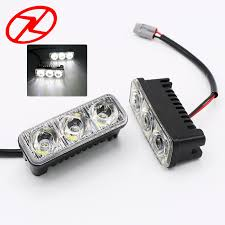 <b>2Pcs 6 Led</b> High Power 9W Car <b>Universal</b> Light Source Waterproof ...