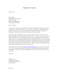 sample cover letter for executive assistant sample cover letter for executive assistant 2604