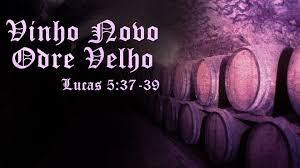Resultado de imagem para jesus e o odre de vinho novo