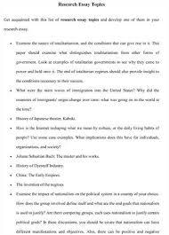 interesting research essay topics  wwwgxartorg interesting research paper topic ideashow to come up with interesting research paper topic ideas