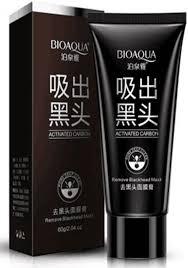 <b>Черная маска</b>-<b>пленка</b> для очищения пор <b>лица</b> (60 г.), BIOAQUA
