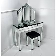 furniture corner mirrored vanity table pier one with drawer and black glass top mirror stool leather home decor bedroom decor mirrored furniture nice modern