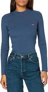 <b>Levi's</b> Women's <b>Crew Rib Sweater</b>: Amazon.co.uk: Clothing