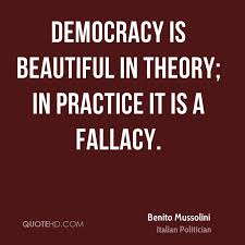 Kết quả hình ảnh cho Fallacious democracy