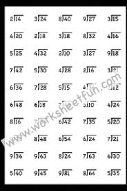 Division / FREE Printable Worksheets – WorksheetfunDivision Worksheets – One Worksheet
