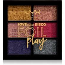 <b>NYX Professional Makeup</b> Love Lust Disco Foil Play <b>палетка</b> теней ...