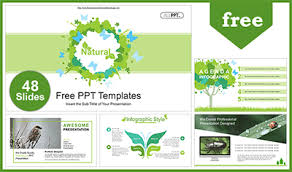 Free Nature Powerpoint Templates <b>Design</b>