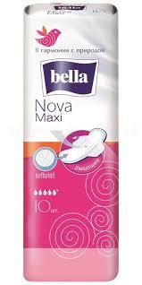 <b>Прокладки Белла Nova</b> Maxi N 10 купить в Пермь, описание и ...