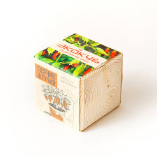 <b>Экокуб Перчик</b> жгучий - купить набор для выращивания дерева в ...