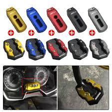 <b>SEMSPEED CNC</b> Motorcycle Side <b>Kickstand</b> Kick Foot Stand ...