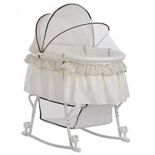 Lacy <b>Portable 2 in</b> 1 Bassinet and Cradle | Dream On Me